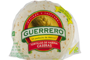 Guerrero Fajita Flour Tortillas - 20 CT