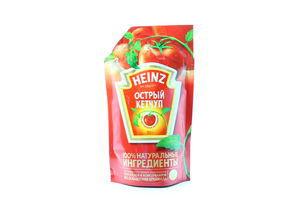 Кетчуп острый Heinz д/п 350г