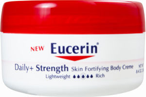 Eucerin Daily + Strength Lightly Scented Skin Fortifying Body Creme