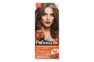 Маска тонуюча для волосся Рябина Ton Oil Mask №014 Acme Color 1шт