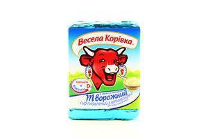 Сыр 50% плавленый творожный Веселая коровка 90г