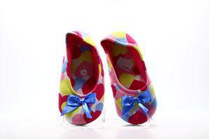 Тапочки-чешки комнатные женские Twins Орнамент 40-41 разноцветные