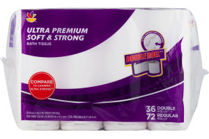 Ahold Ultra Premium Bath Tissue Soft & Strong - 36 CT