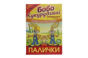 Кукурузные палочки сладкие неглазированные Бобо к/у 140г