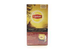 Чай черный Heart Of Ceylon Lipton к/у 25х2г