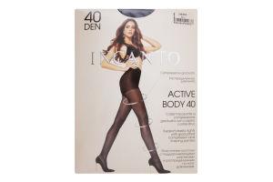 Колготки женские Incanto Active Body 40den 4-L nero