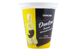 Десерт 5.4% кисломолочный Банан-черный шоколад Даніссімо ст 270г