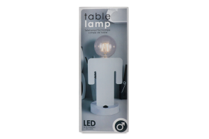 Лампа настольная светодиодная LED металл ассор Y*1