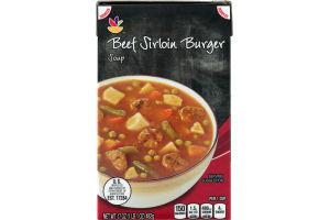 Ahold Beef Sirloin Burger Soup