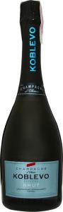 Шампанське 0.75л 10.5-12.5% Brut Koblevo пл
