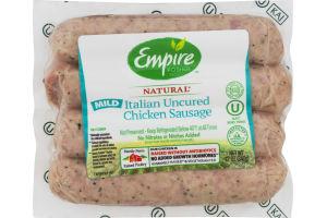 Empire Kosher Natural Italian Uncured Chicken Sausage Mild