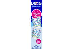 Dixie Everyday 3oz Bath Cups - 100 CT