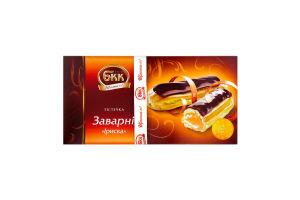 Пирожные Заварные Ириска БКК к/у 0.36кг
