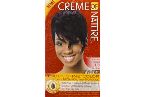 Creme of Nature Permanent Hair Color Intense Black 1.0