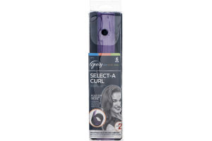 Goody Select-A Curl Adjustable Self Holding Rollers - 6 CT