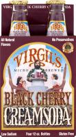 Virgil's Micro Brewed Black Cherry Cream Soda - 4 PK