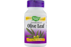 Nature's Way Standardized Olive Leaf - 60 CT
