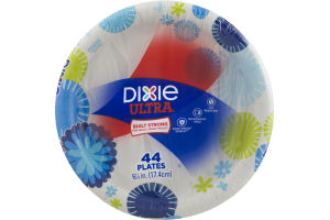 Dixie Ultra Plates 6 7/8 in - 44 CT