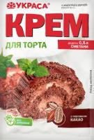 Крем с порошком какао Для торта Украса м/у 70г