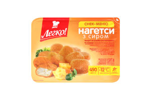Нагетсы с сыром Легко лоток 450г