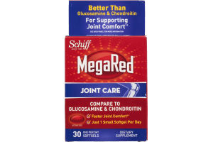 Schiff MegaRed Joint Care Softgels - 30 CT