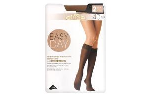 Гольфы женские Omsa Easy day 40 caramello S/M ^
