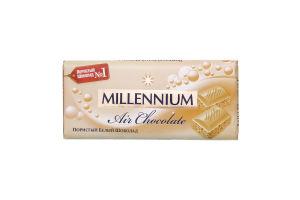 Шоколад белый пористый Premium Millennium 90г