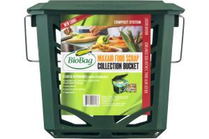 BioBag Compost System Maxair Food Scrap Collection Bucket