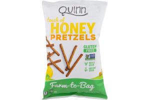 Quinn Touch of Honey Whole Grain Pretzels