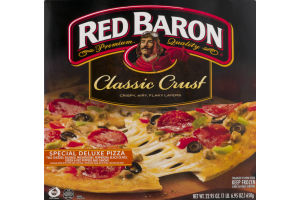 Red Baron Classic Crust Pizza Special Deluxe