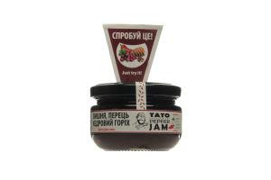 Соус-джем вишня-перец-кедровый орех TatoPepperJam с/б 130г
