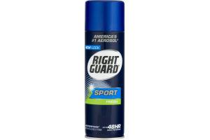 Right Guard Sport Aerosol Antiperspirant Fresh