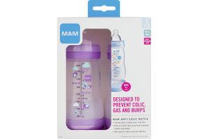 MAM Baby Bottle Anti-Colic - 2 CT