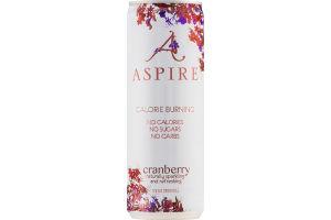 Aspire Calorie Burning Drink Cranberry