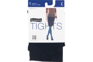 No Nonsense Tights Opaque Black - Large