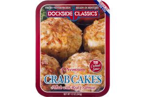 Dockside Classics Premium Crab Cakes - 4 CT