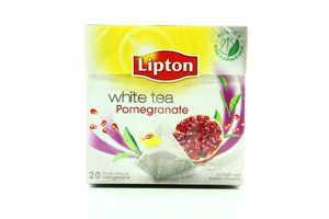 Чай Lipton білий Корки граната 20пак