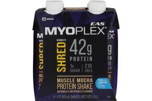 EAS Myoplex Protein Shake Muscle Mocha - 4 CT