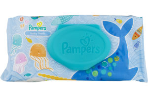 Pampers Baby Wipes Baby Fresh - 64 CT