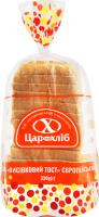 Хліб нарізний Висівковий тост Цар хліб м/у 330г