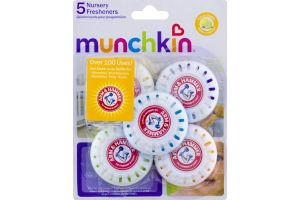 Munchkin Nursery Fresheners Lavender Scent - 5 CT
