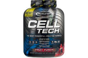 Muscletech Cell Tech Creatine Formula Fruit Punch