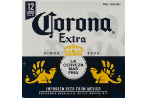 Corona Extra Imported Beer - 12 CT