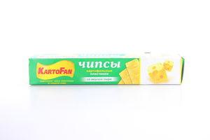 Чіпси карт.зі смаком сиру KartoFan 50г