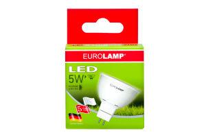 Лампа Eurolamp світлодіодна GU5.3 5W 4000K 440Lm