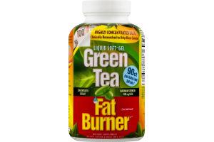 Green Tea Fat Burner Liquid Soft-Gels - 90 CT