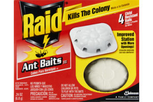 Raid Ant Baits Kills the Colony - 4 CT