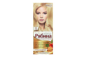 Крем-краска для волос Рябина Блонд №010 Acme Color