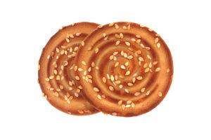 Печенье с кунжутом сахарное Карапуз-Конті Konti кг