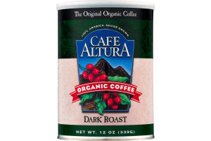 Cafe Altura Organic Coffee Dark Roast